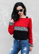 Best Friend Cropped Sweater  - Strickset